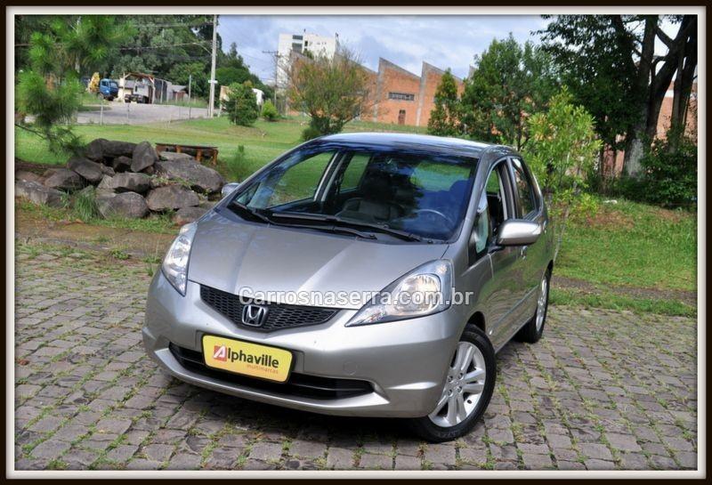 fit 1.5 ex 16v gasolina 4p automatico 2009 caxias do sul