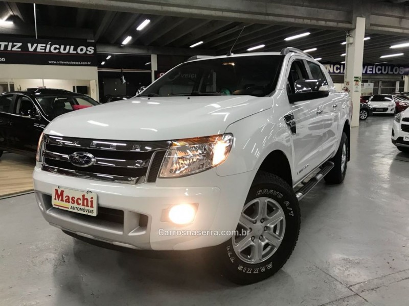 ranger 3.2 limited plus 4x4 cd 20v diesel 4p automatico 2015 caxias do sul