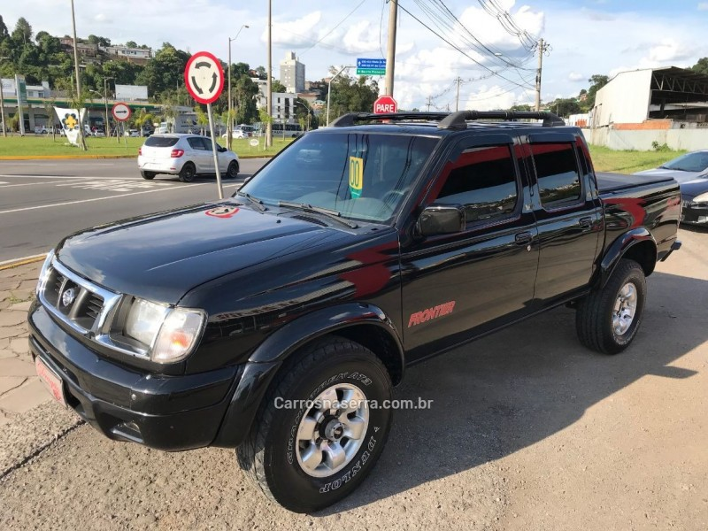 frontier 3.2 ax 4x4 cd diesel 4p manual 2000 caxias do sul
