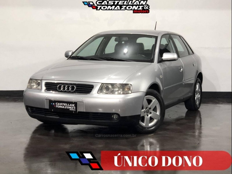 a3 1.8 20v 150cv turbo gasolina 4p automatico 2005 caxias do sul