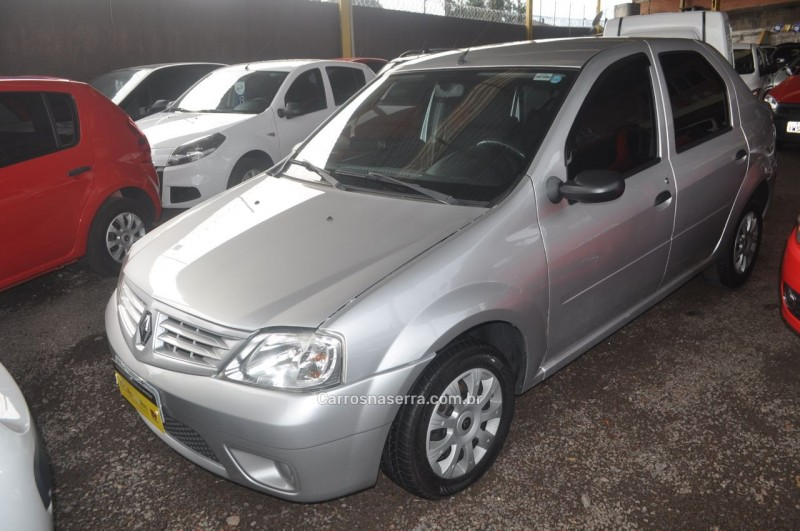logan 1.0 authentique 16v flex 4p manual 2009 caxias do sul