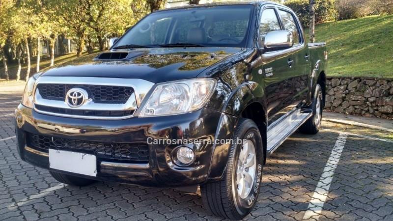 hilux 3.0 srv 4x4 cd 16v turbo intercooler diesel 4p automatico 2011 caxias do sul
