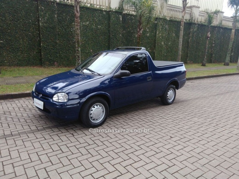 corsa 1.6 mpfi std cs pick up 8v gasolina 2p manual 1999 caxias do sul