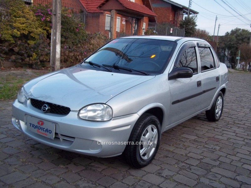 corsa 1.0 mpfi sedan 8v gasolina 4p manual 2001 caxias do sul