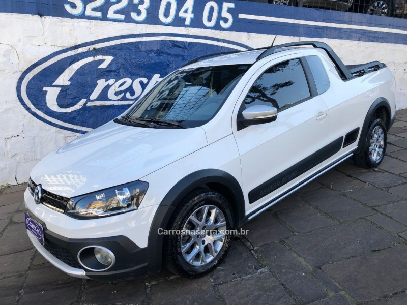 saveiro 1.6 cross ce 16v flex 2p manual 2015 caxias do sul