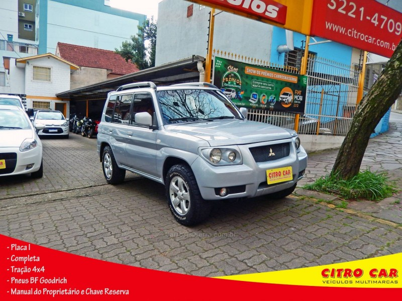 pajero tr4 2.0 4x4 16v flex 4p manual 2009 caxias do sul