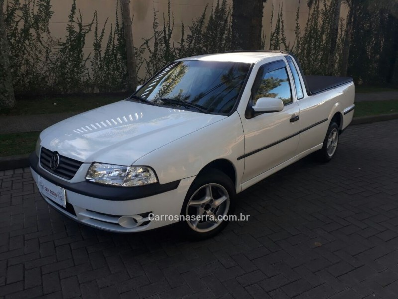 saveiro 1.6 mi city cs 8v gasolina 2p manual g.iii 2002 caxias do sul