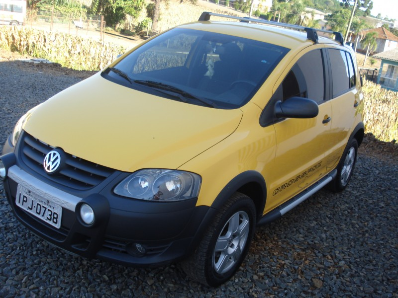 crossfox 1.6 mi flex 8v 4p manual 2009 vista alegre do prata