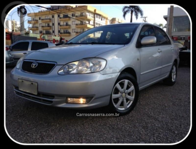 corolla 1.6 xli 16v gasolina 4p manual 2003 caxias do sul