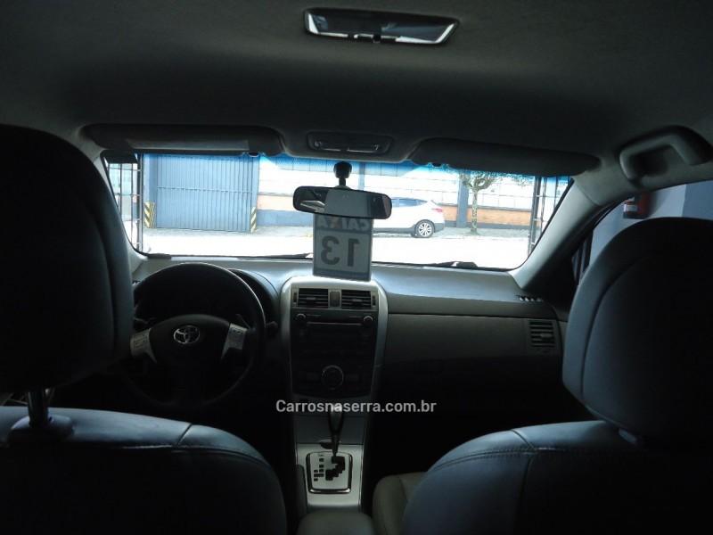 COROLLA 2.0 XEI 16V FLEX 4P AUTOMÁTICO - 2013 - FLORES DA CUNHA