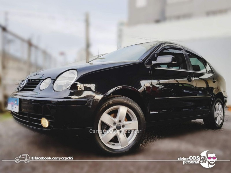 polo sedan 1.6 mi 8v flex 4p manual 2005 bento goncalves