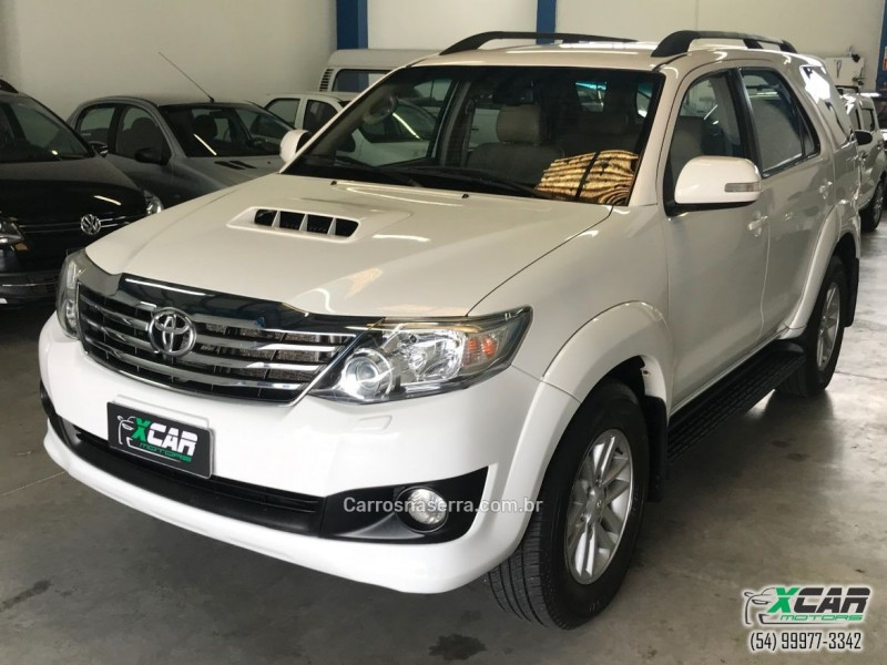 hilux sw4 3.0 srv 4x4 7 lugares 16v turbo intercooler diesel 4p automatico 2012 bento goncalves