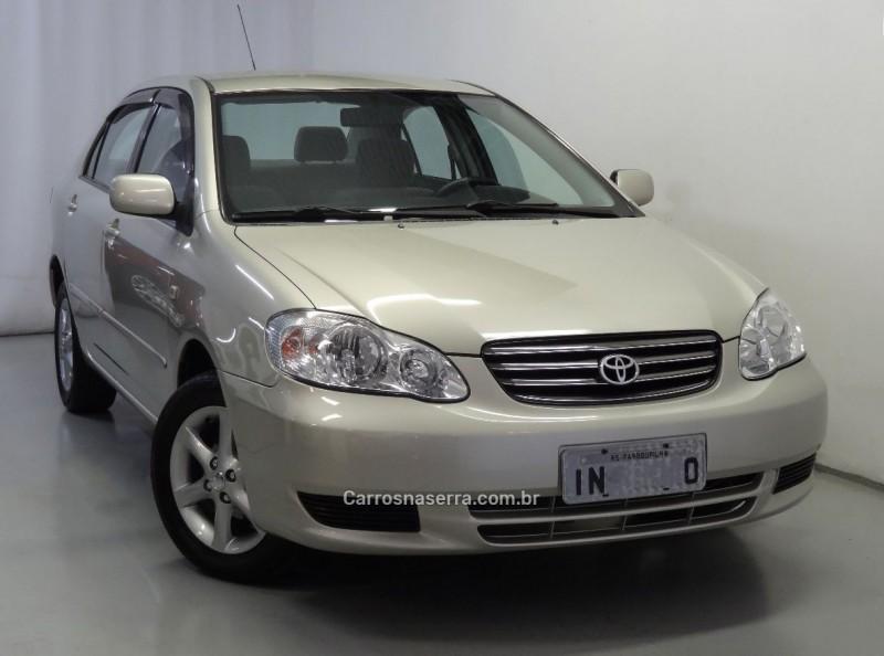 corolla 1.8 xei 16v gasolina 4p automatico 2003 farroupilha