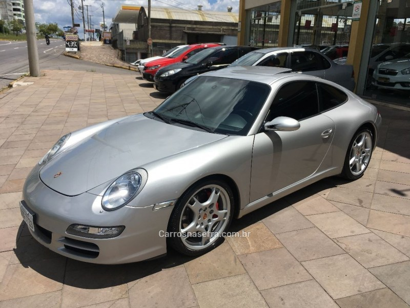 911 3.8 carrera s coupe 6 cilindros 24v gasolina 2p manual 2005 caxias do sul