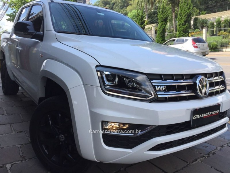 amarok 3.0 v6 tdi highline cd diesel 4motion automatico 2018 caxias do sul