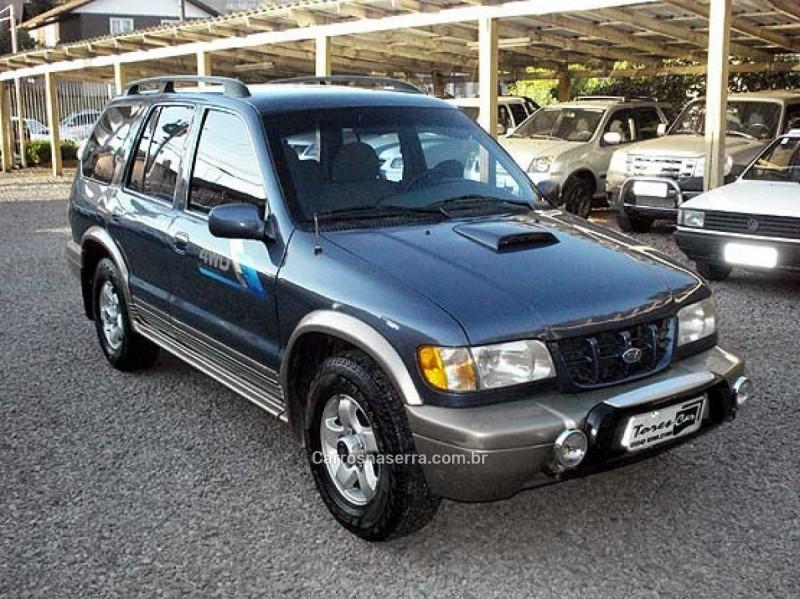 sportage 2.0 dlx grand 4x4 turbo intercooler diesel 4p manual 2001 antonio prado