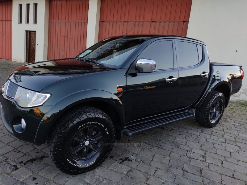 l200 triton 3.2 hpe 4x4 cd 16v turbo intercooler diesel 4p manual 2009 veranopolis