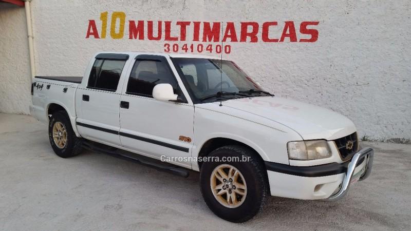 s10 2.5 std 4x4 cd 8v turbo diesel 4p manual 2000 caxias do sul