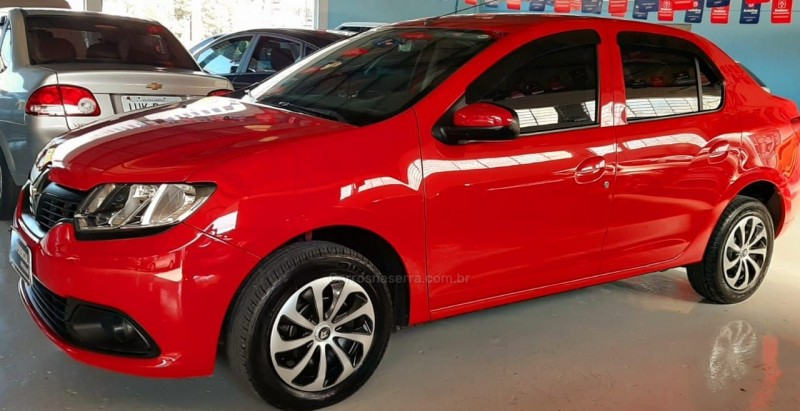 logan 1.0 authentique 16v flex 4p manual 2015 caxias do sul