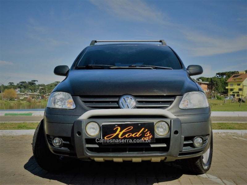 crossfox 1.6 mi flex 8v 4p manual 2005 canela