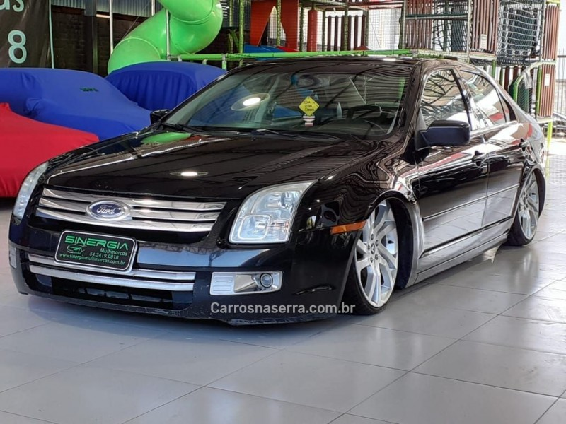 fusion 2.3 sel 16v gasolina 4p automatico 2006 caxias do sul