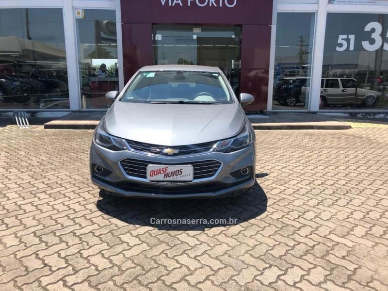 CRUZE 1.8 LTZ 16V FLEX 4P AUTOMÁTICO - 2018 - CAXIAS DO SUL