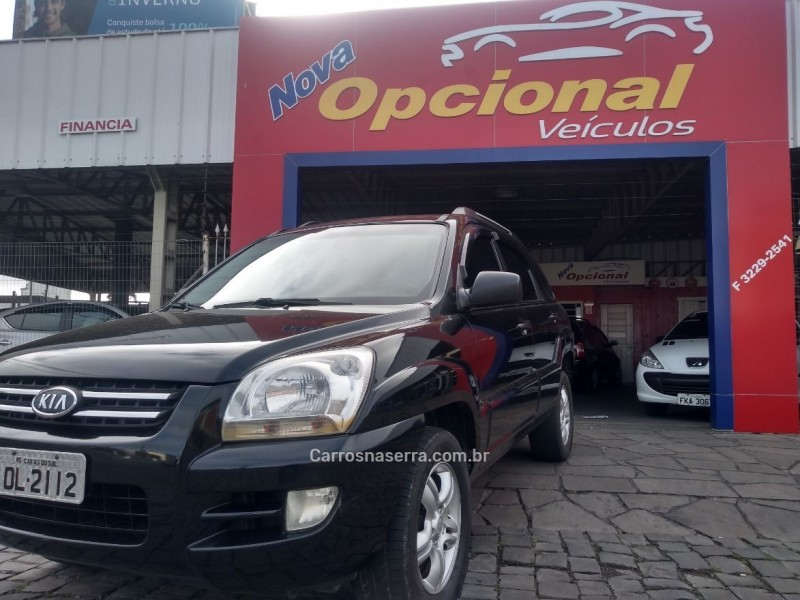 sportage 2.0 lx3 g2 4x2 16v gasolina 4p manual 2008 caxias do sul