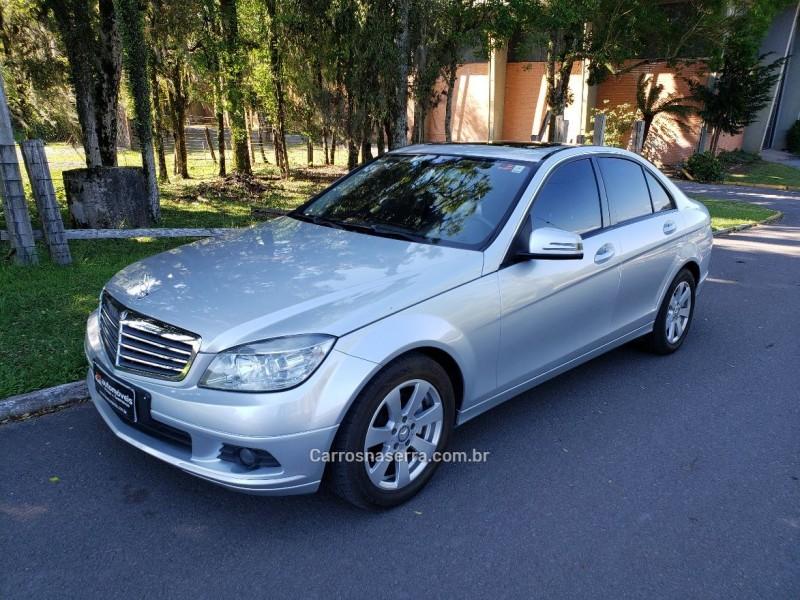 c 200 k 1.8 kompressor classic 16v gasolina 4p automatico 2010 nova petropolis