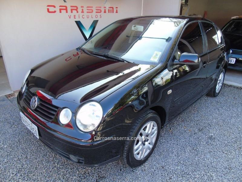 polo sedan 2.0 mi 8v gasolina 4p manual 2003 carlos barbosa