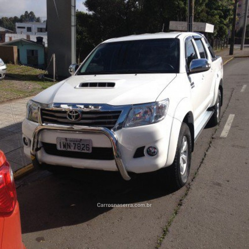 hilux 3.0 srv 4x4 cd 16v turbo intercooler diesel 4p manual 2015 caxias do sul