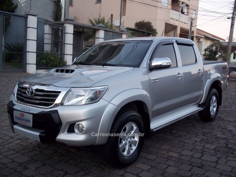 hilux 3.0 srv 4x4 cd 16v turbo intercooler diesel 4p manual 2012 caxias do sul