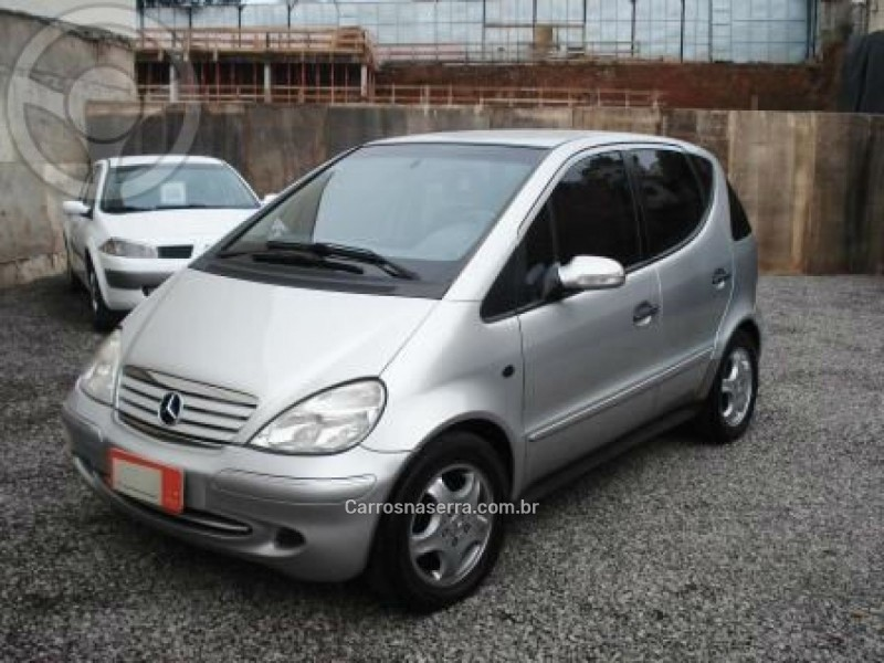 CLASSE A 1.9 190 AVANTGARDE GASOLINA 4P MANUAL - 2005 - CAXIAS DO SUL