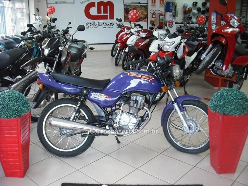 cg 125 titan 1995 veranopolis