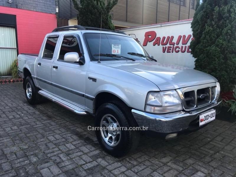 ranger 2.5 xlt 4x4 cd 8v turbo intercooler diesel 4p manual 2001 caxias do sul
