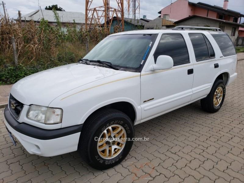 blazer 4.3 sfi dlx executive 4x2 v6 12v gasolina 4p automatico 2000 caxias do sul