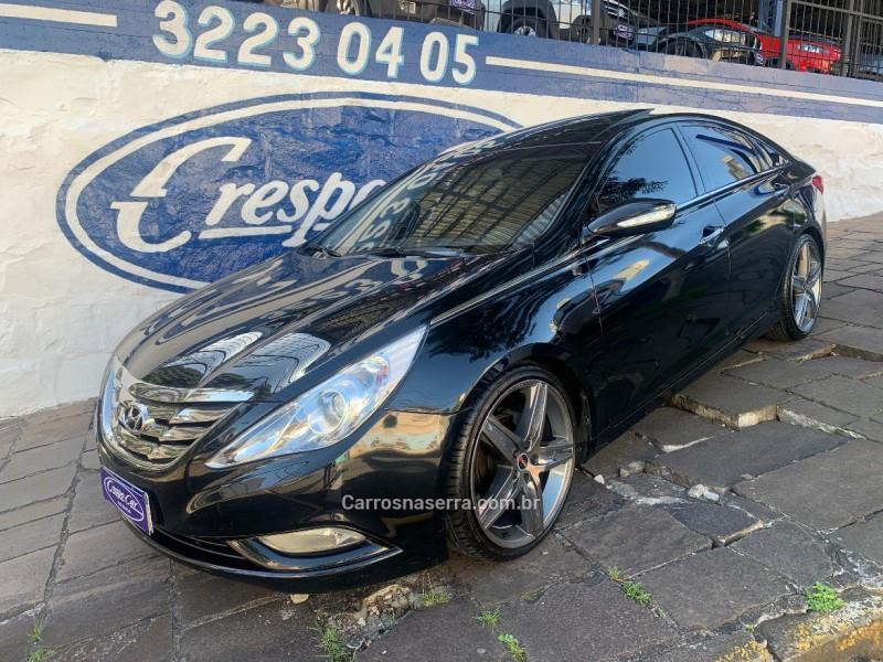 sonata 2.4 mpfi i4 16v 182cv gasolina 4p automatico 2012 caxias do sul
