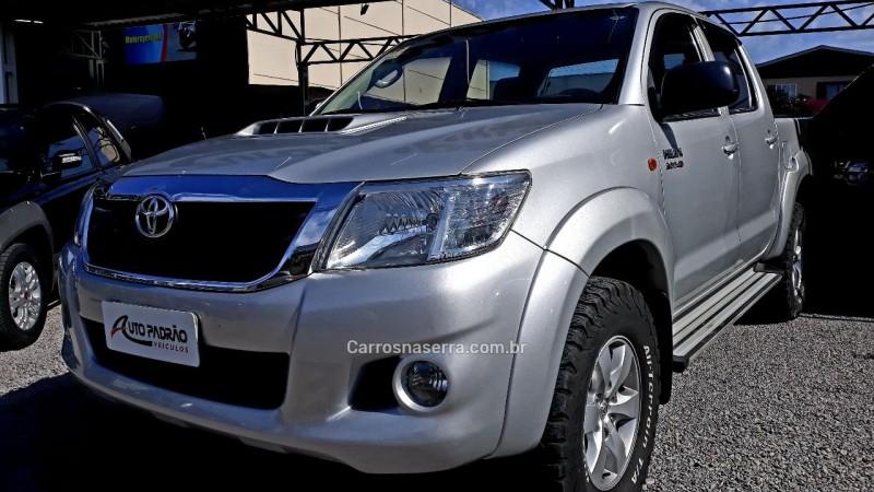 hilux 3.0 sr 4x4 cd 16v turbo intercooler diesel 4p automatico 2012 caxias do sul
