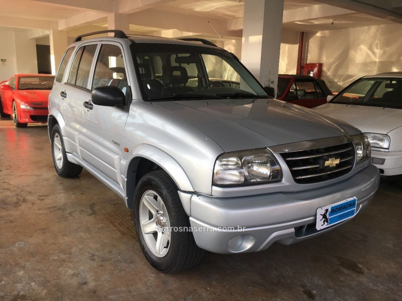 tracker 2.0 4x4 16v gasolina 4p manual 2008 farroupilha
