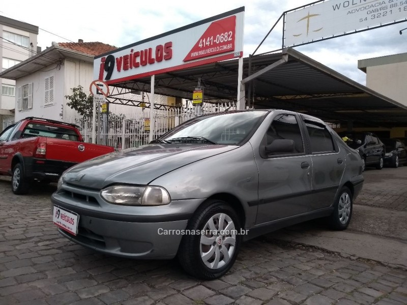 siena 1.6 mpi elx 16v gasolina 4p manual 1999 caxias do sul