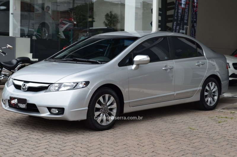 civic 1.8 lxl 16v flex 4p automatico 2011 caxias do sul