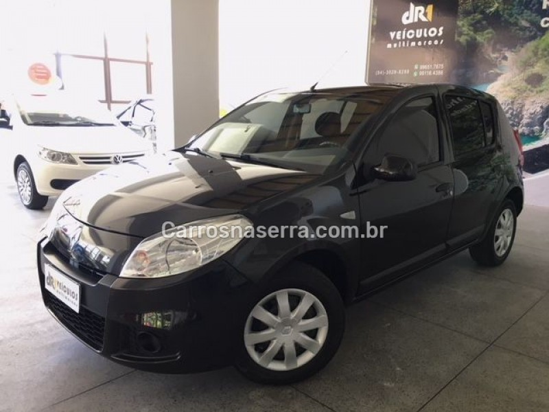 sandero 1.6 expression 8v flex 4p manual 2012 caxias do sul