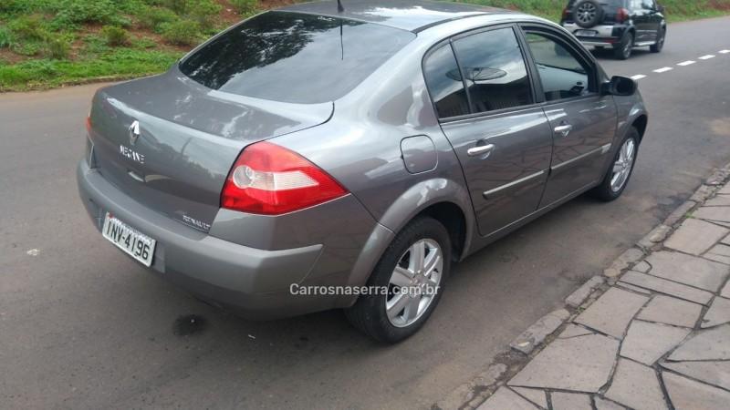 megane 2.0 dynamique sedan 16v gasolina 4p automatico 2007 nova prata