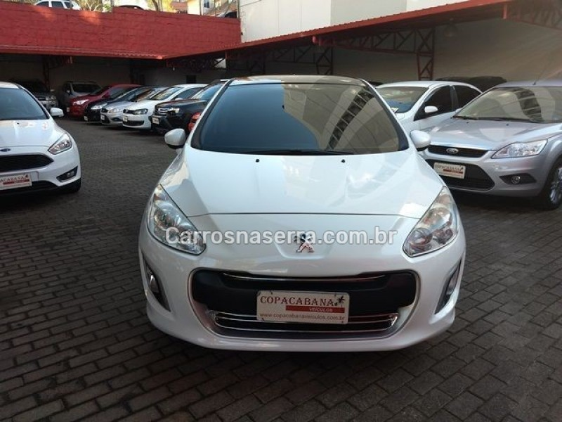 308 2.0 allure 16v flex 4p manual 2013 caxias do sul