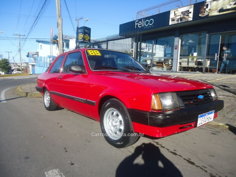 chevette 1.6 sl 8v alcool 2p manual 1988 caxias do sul