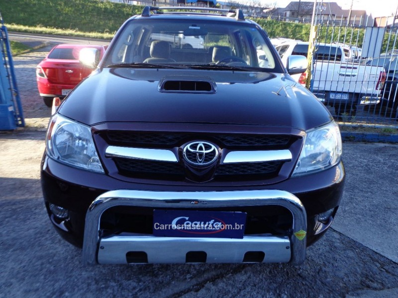 hilux 3.0 srv 4x4 cd 16v turbo intercooler diesel 4p automatico 2006 farroupilha
