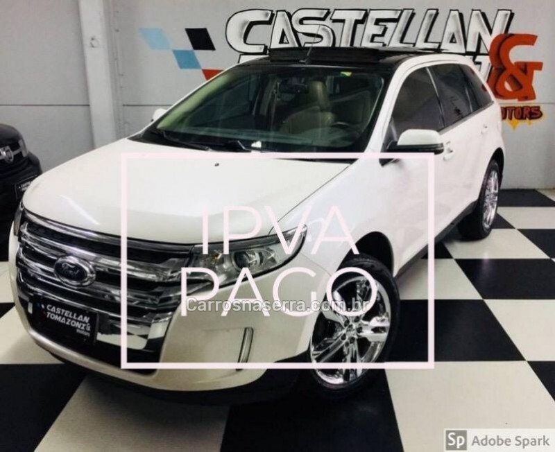 edge 3.5 limited awd v6 24v gasolina 4p automatico 2013 caxias do sul