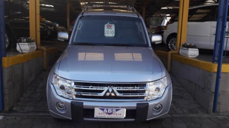pajero full 3.8 hpe 4x4 v6 24v gasolina 4p automatico 2010 caxias do sul