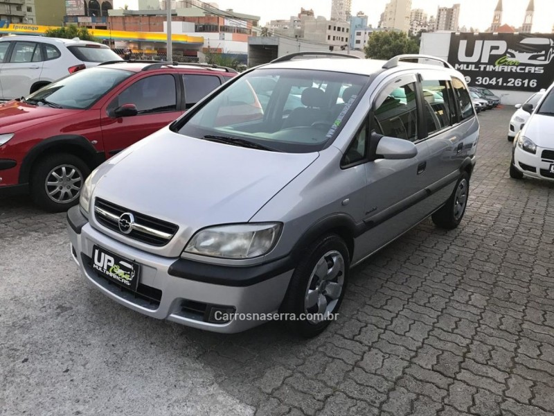 zafira 2.0 mpfi 16v gasolina 4p manual 2005 caxias do sul