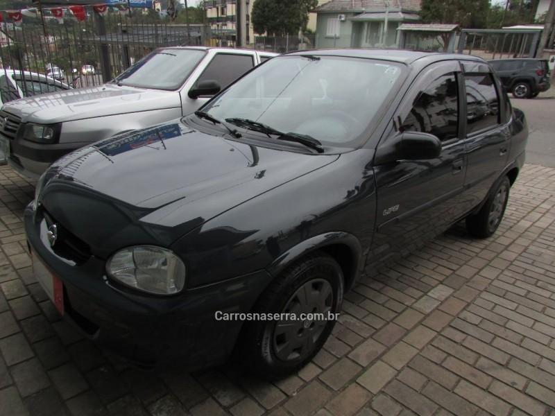 corsa 1.0 mpfi classic sedan life 8v flex 4p manual 2008 bento goncalves