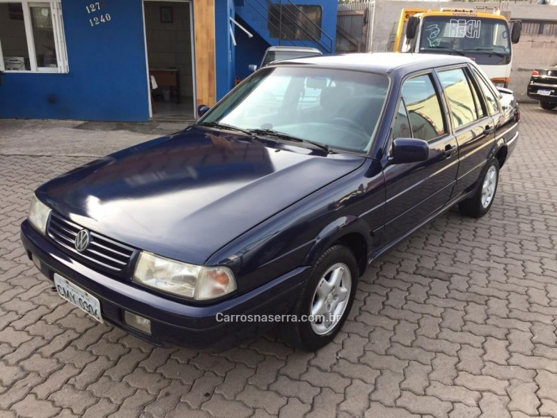 santana 2.0 mi evidence 8v gasolina 4p manual 1997 caxias do sul